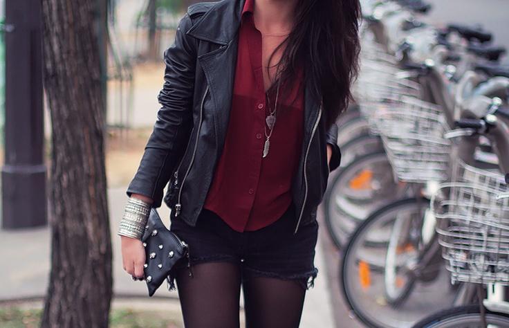rocker chic. I want everything!