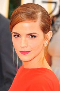 Love those double pearl earrings on Emma Watson | Emma ...