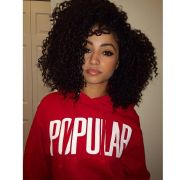 beautiful girls with curly hair