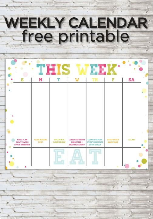 fillable calendar template