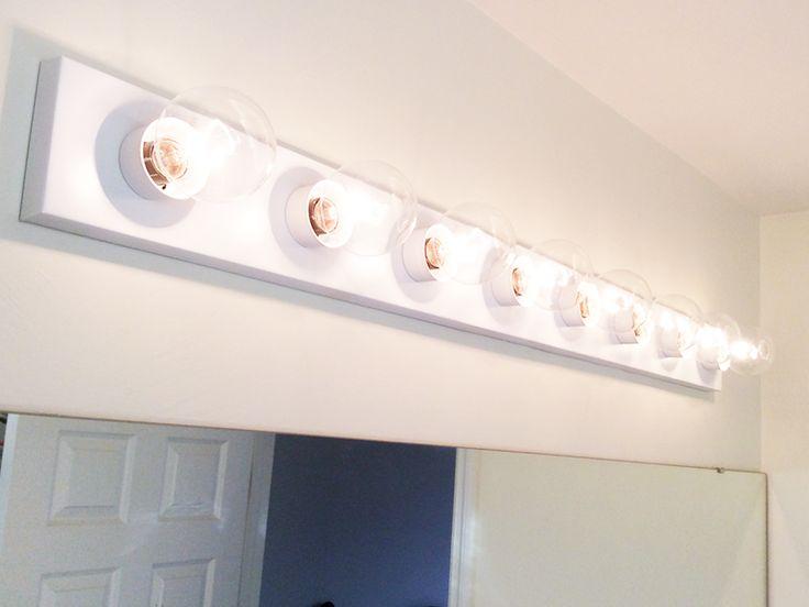 Update a Hollywood Brass Light Fixture wSpray Paint  For