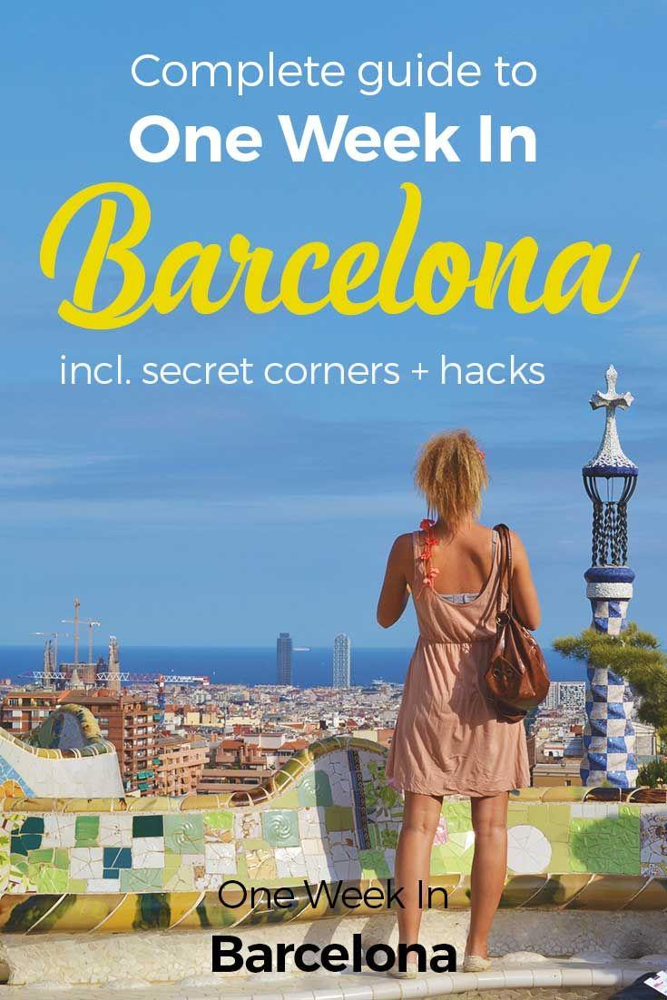 1000 ideas about Barcelona on Pinterest  Barcelona trip Visit barcelona and Barcelona travel