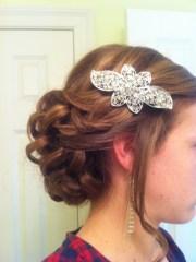 ideas curly bun hairstyles