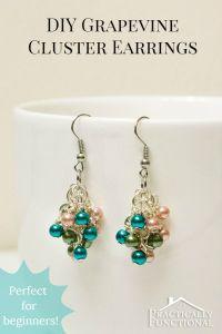 17 Best ideas about Cluster Earrings on Pinterest