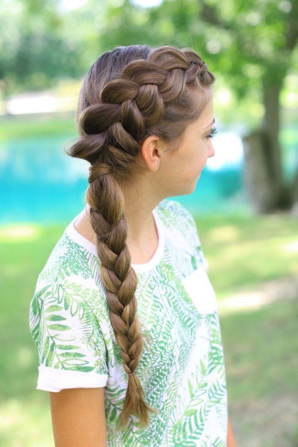 30 Dutch Braid Hairstyles Cute For Pool Hairstyles Ideas Walk