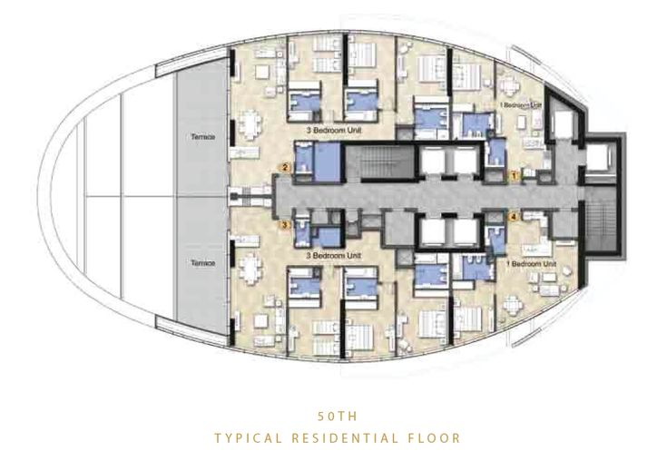 The Distinction Floor Plans