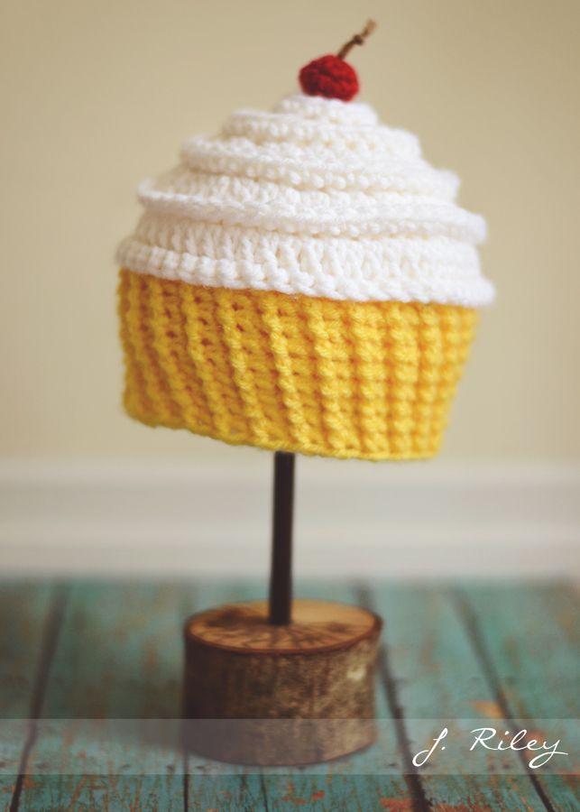 Crochet Cupcake Hat  Crochet Cupcake Hat  Pinterest  Crochet cupcake hat Crochet cupcake