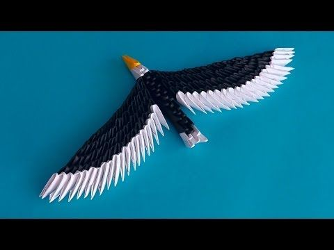 origami eagle instructions diagram 1999 ford f250 ignition wiring 17 best ideas about 3d on pinterest | modular origami, and tutorial