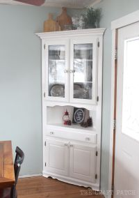 Best 25+ Corner china cabinets ideas on Pinterest | Corner ...