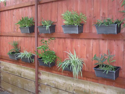 I Can Hang Pots Chain Link Fence