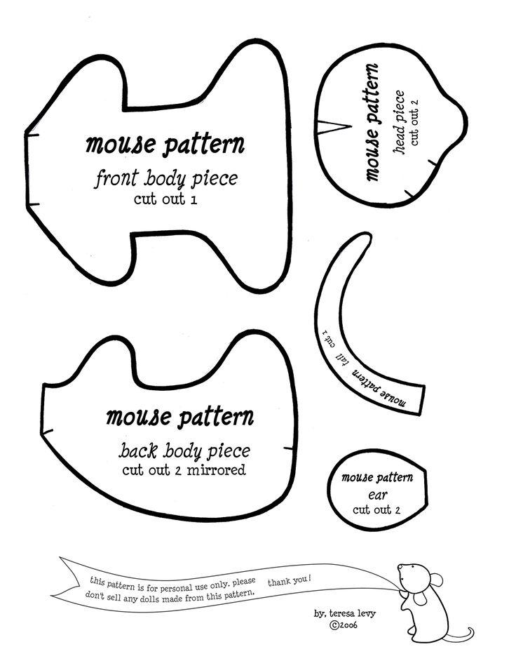 Best 25+ Felt mouse ideas on Pinterest