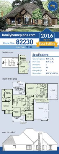 Best 25+ Home plans ideas on Pinterest | House floor plans ...