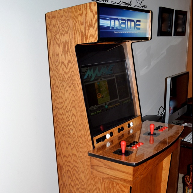 Diy Arcade Cabinet Plans  WoodWorking Projects  Plans