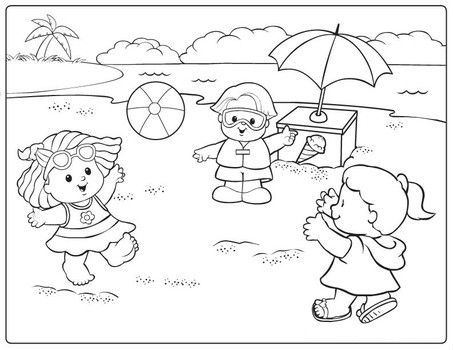17 Best images about Fisher Price Coloring Pages on