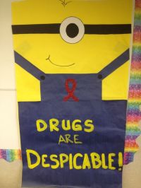 ideas for red ribbon week door decorating contest