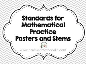 17 Best ideas about Mathematical Practices Posters on