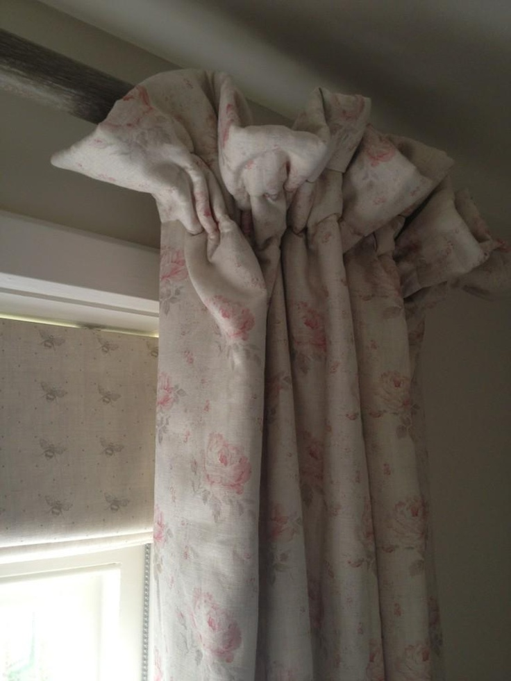 I Love This Frill Top Cottage Pleat Curtain For A Lovely Relaxed Country Feel Georgian Roses