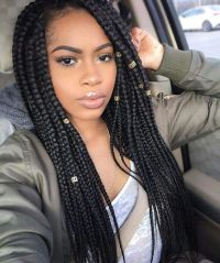 17 Best ideas about Black Box Braids on Pinterest