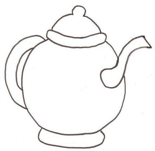 119 best images about teapot stencils on Pinterest