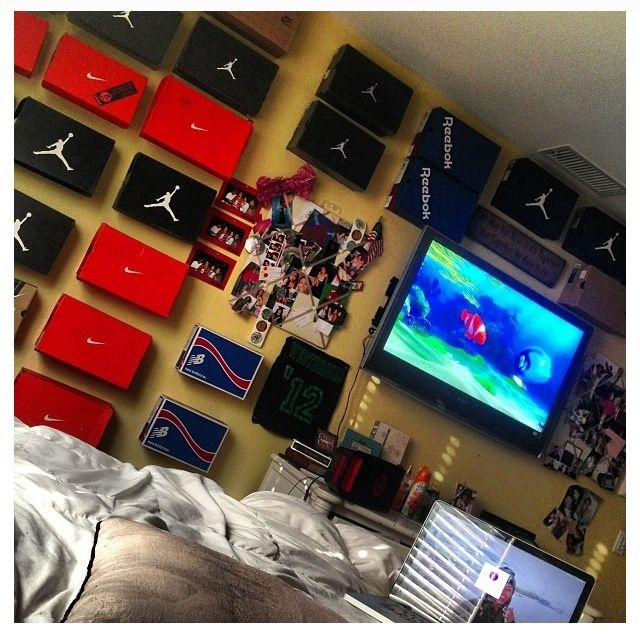 Boys Sneaker Bedroom Google Search Son With SWAG Pinterest Bedrooms And Room