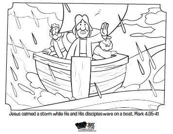 17 Best images about Bible: NT Jesus Calms the Storm on