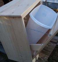 Best 25+ Wooden trash can holder ideas on Pinterest ...