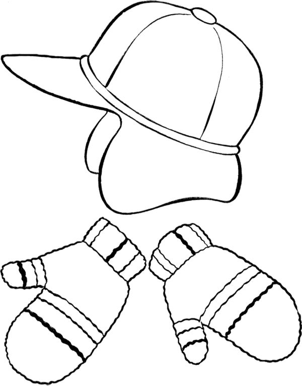 18 best images about clothing coloring pages on Pinterest