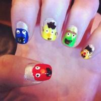 20 best images about ernie & bert nails & nail art design