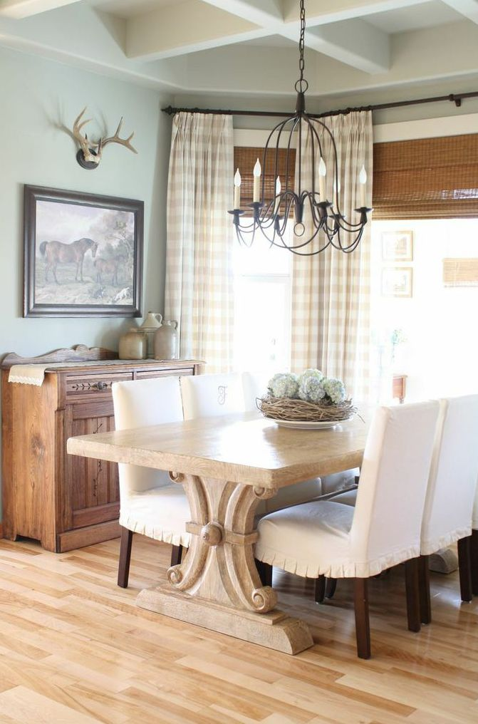 gingham dining room chair covers best ever 25+ ideas about buffalo check curtains on pinterest | curtains, and ...