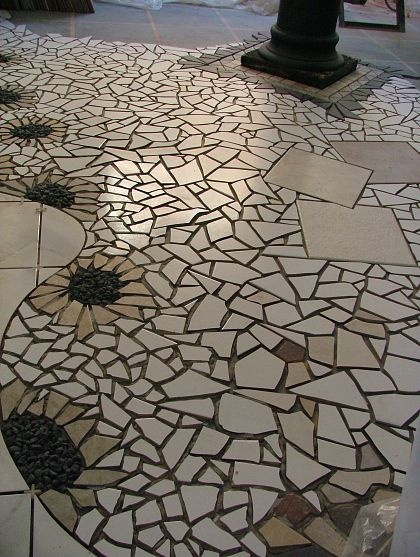 Best 25 Mosaic floors ideas on Pinterest