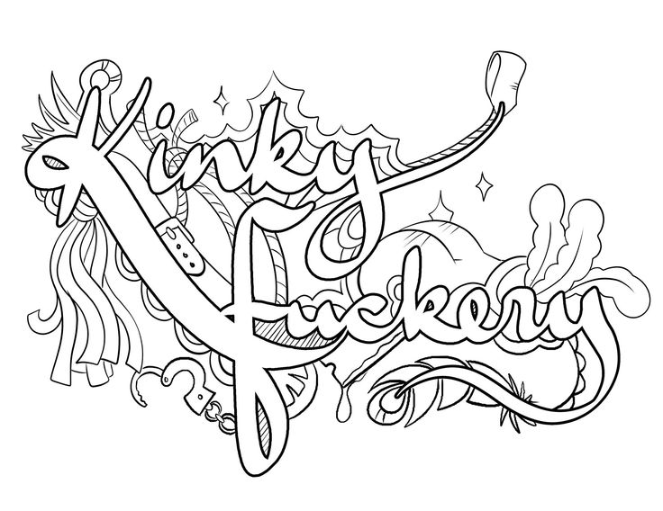 Bdsm Coloring Pages Printable Coloring Pages