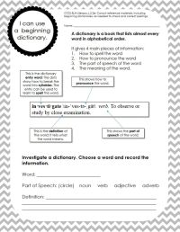 1000+ ideas about Dictionary Skills on Pinterest