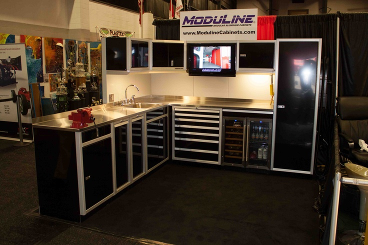 small rolling kitchen island rug sets from the barrett jackson auction, these moduline cabinets ...