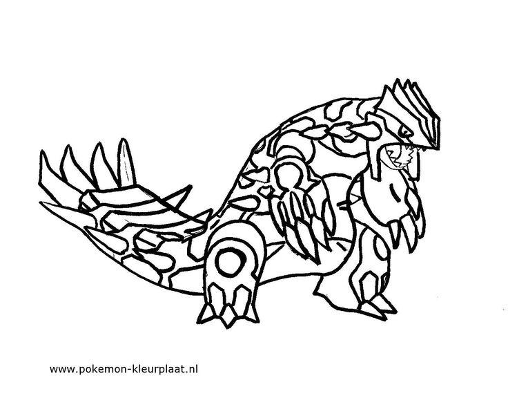 Primal Groudon #primalgroudon #pokemon #coloringpage #