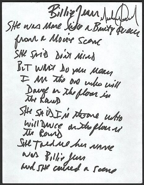 47 best images about MJ: his handwriting. on Pinterest
