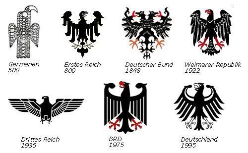 Deutsches Wappen1.gif (500×309) #germany #eagle # german