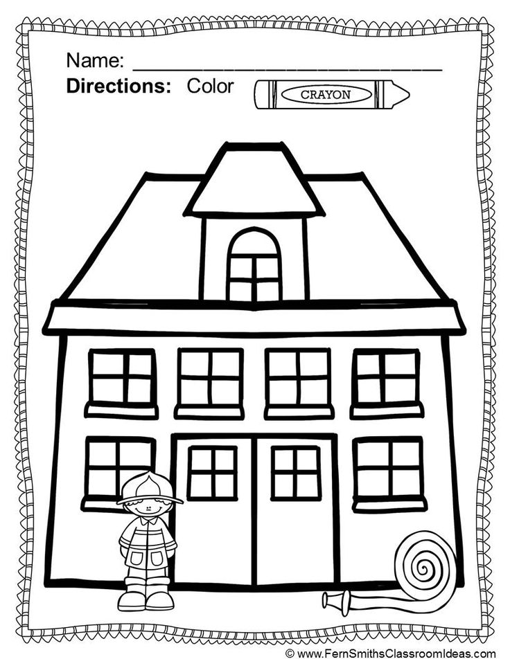 28 best Kids: firefighter coloring pages images on Pinterest