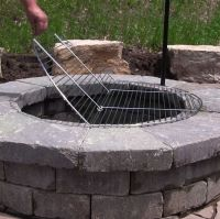 1000+ ideas about Fire Pit Grill on Pinterest   Diy grill ...