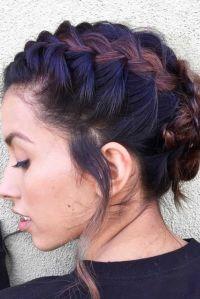 Best 20+ Short braided hairstyles ideas on Pinterest ...
