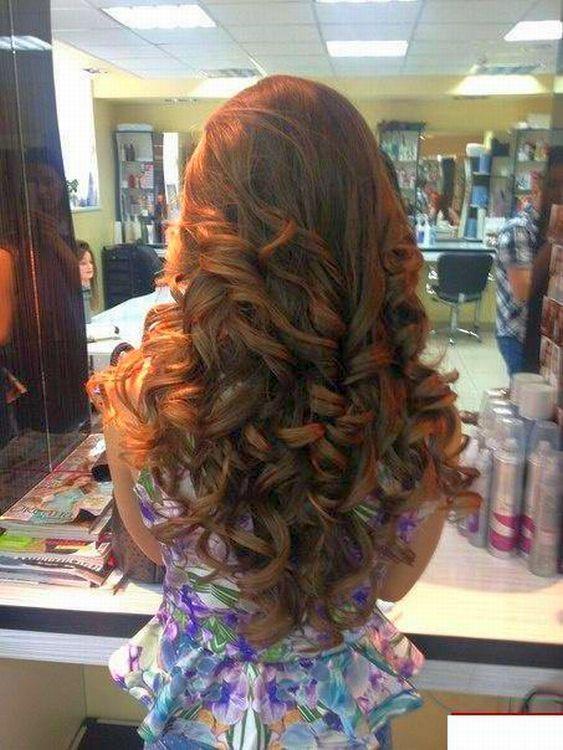 1000 Ideas About Barrel Curls On Pinterest Rope Braid