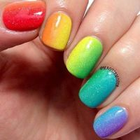 25 best images about Gradient Nails on Pinterest!