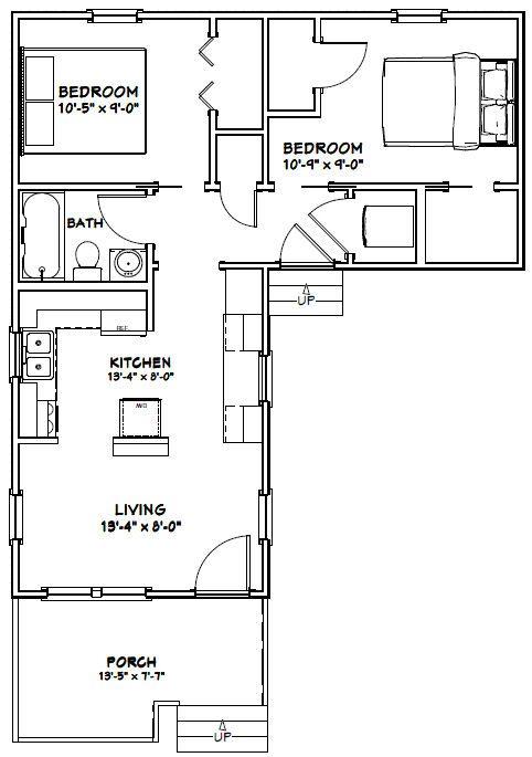 Plans Small Home Plans Ontario L - Meuble Garten on 20x40 one-bedroom floor plans, dueplex floor plans, duplex home floor plans,