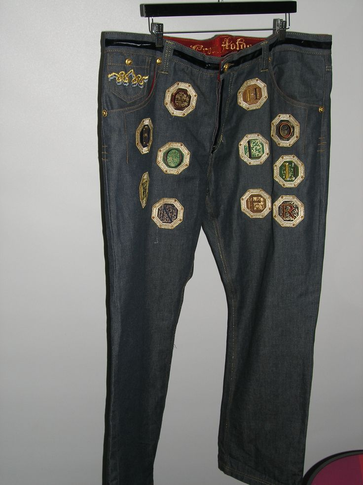 Authentic Crown Holder Jeans