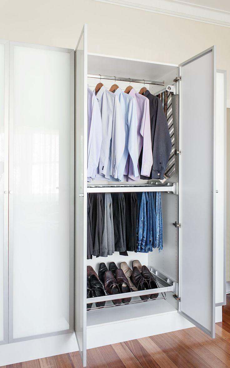 Flatpax 450mm Modern White Wardrobe Drawer I N 2710125 Bunnings
