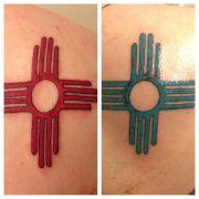 zia symbol tattoo design