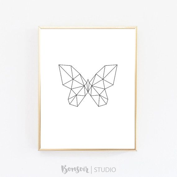 Minimal Geometric Butterfly Auto Electrical Wiring Diagram