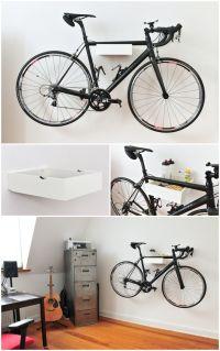 25+ best ideas about Bike wall mount on Pinterest