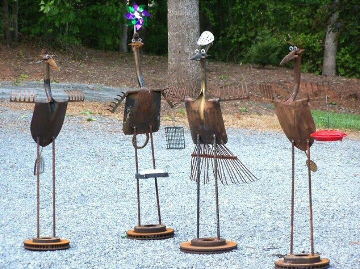 25 Best Ideas About Metal Yard Art On Pinterest Metal Garden