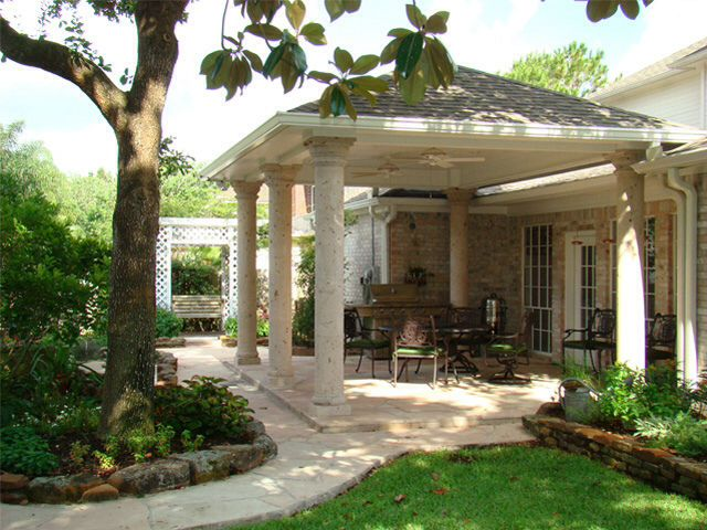 Free Standing Covered Porch Back Yard Ideas Pinterest