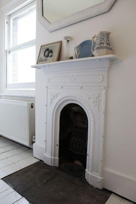 Interior of London Victorian terrace www